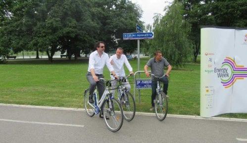 """Bike sharing"" program na Adi Ciganliji 7"