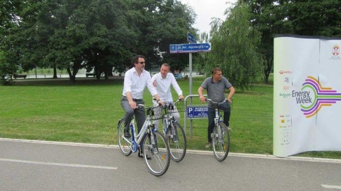 """Bike sharing"" program na Adi Ciganliji 3"