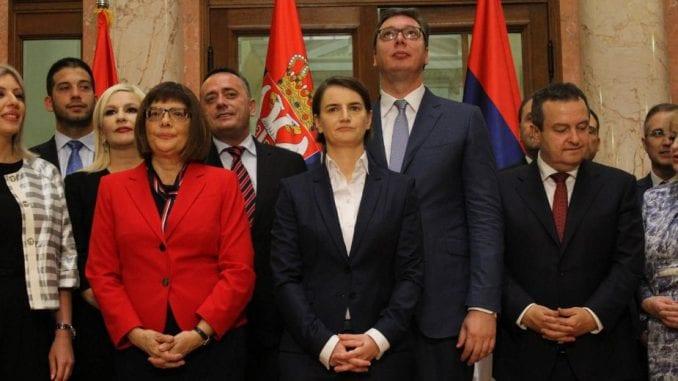 Kabinet Ane Brnabić položio zakletvu 1