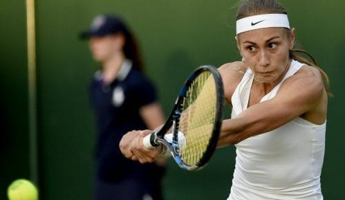 Pad Aleksandre Krunić na WTA listi 4