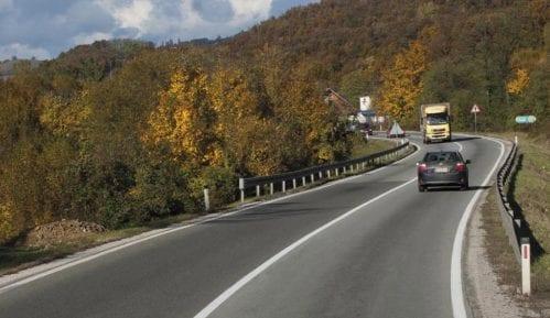 Putevi Srbije: Zatvorena vozna saobraćajna traka na ulazu u tunel Lipak 1