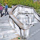 Vesić: Obnova malog stepeništa na Kalemegdanu 13