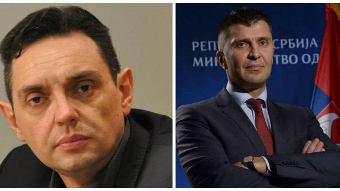 Vulin i Đorđević zamenjuju mesta 1
