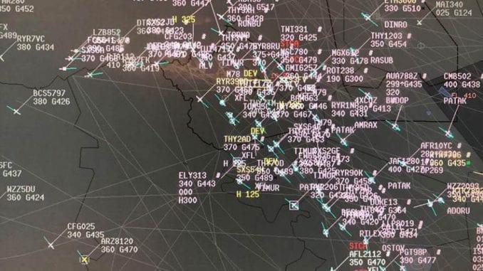 Rumunskoj kontroli letenja preusmereno 120 aviona iz Srbije 1