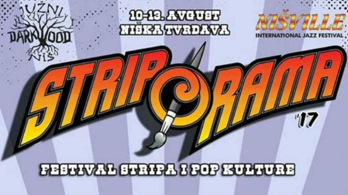 Festival Striporama u Nišu od 10. do 13. avgusta 1