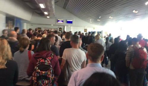 Evakuisan Terminal 3 aerodroma u Mančesteru 11