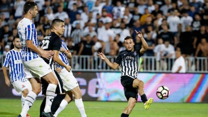 Partizan pobedom krenuo u pohod na Ligu šampiona 1