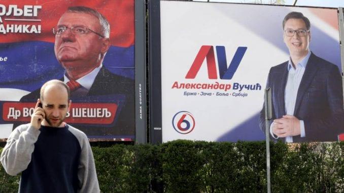Političke partije potrošile u Novom Sadu na desetine hiljada evra na bilborde 2