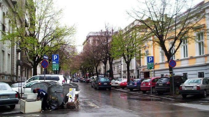 Privremena autobuska linija 5A Dorćol - Vukov spomenik 1