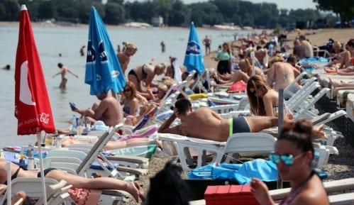 RHMZ: Upozorenje na visoke temperature do utorka 2