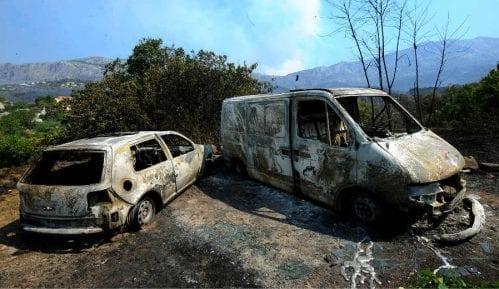 Uzrok širenja požara u Hrvatskoj jaka bura 1