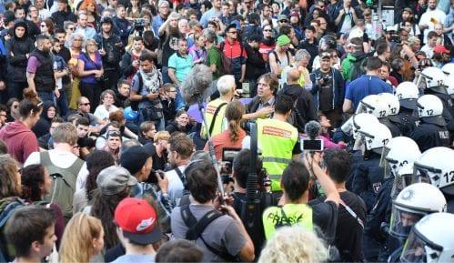 Treći dan protesta u Hamburgu 12