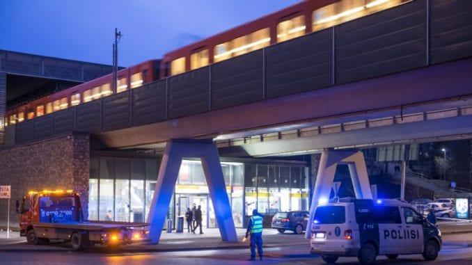 Autom uleteo u masu u Helsinkiju 1
