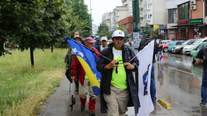 Marš mira Sarajevo - Nezuk - Potočari 1