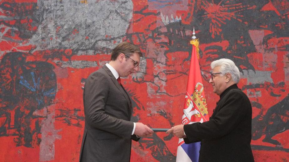 Vučić primio akreditive ambasadora Pakistana i Belorusije 1