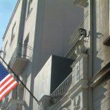 Počelo rušenje bivše američke ambasade u Beogradu 3