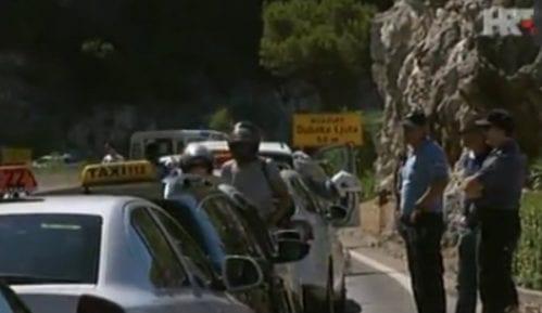 Protest taksista protiv Ubera u Splitu 13