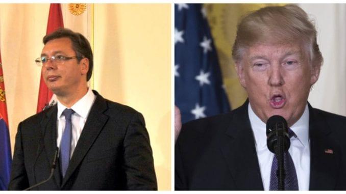 Vučić u čestitki Trampu: Srbija želi da vrati odnose sa SAD na nivo istinskog partnerstva 3