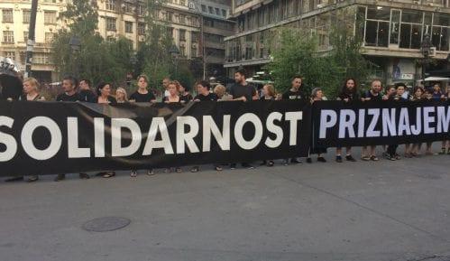 """""""Žene u crnom"""" zaustavljene na granici sa BiH u Višegradu 7"""