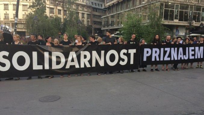 """Žene u crnom: Protest """"Nećemo zaboraviti zločin u Topčideru"""" 5. oktobra 1"""