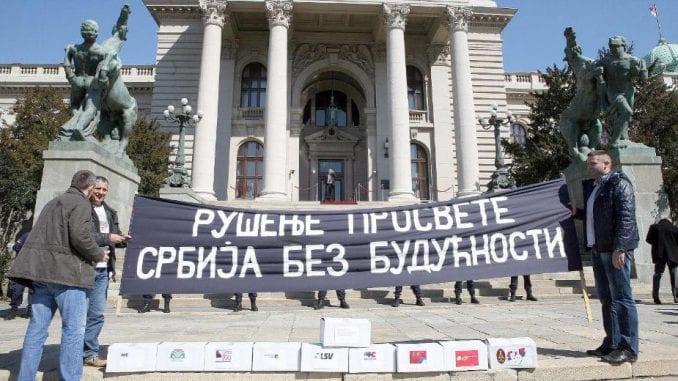 Dogovor ili štrajk prosvetara u oktobru 2