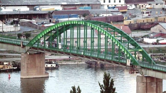 Premeštanje mosta zbog Beograda na vodi 1