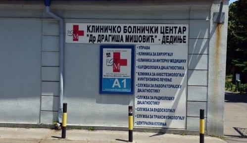 """U KBC """"Dragiša Mišović"""" trenutno smešteno 158 kovid pacijenata 10"""