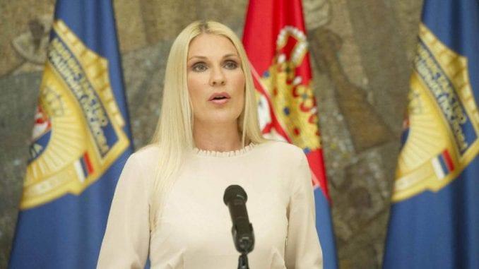 Popović Ivković o zahtevu Kosova za prijem u Interpol 3