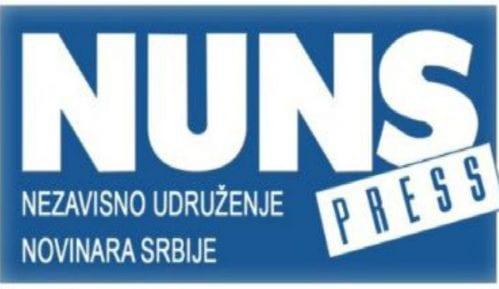 NUNS uputio javnu kritiku Saši Raduloviću 11