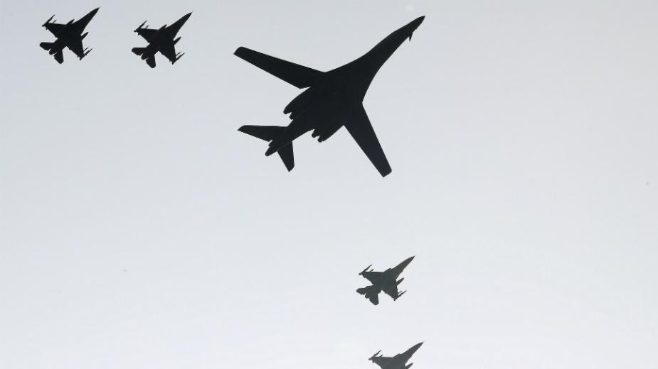 Danas preleti lovačkih aviona u Beogradu 1
