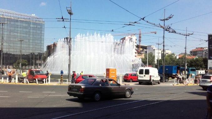 Fontana na Slaviji u Beogradu neće raditi narednih nekoliko dana 4