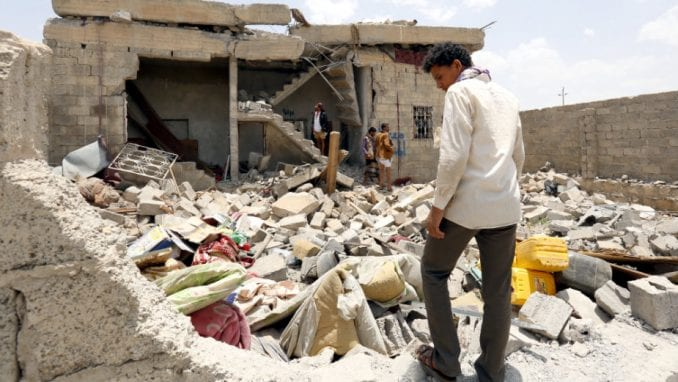 Saudijske bombe ubile najmanje 35 ljudi 1