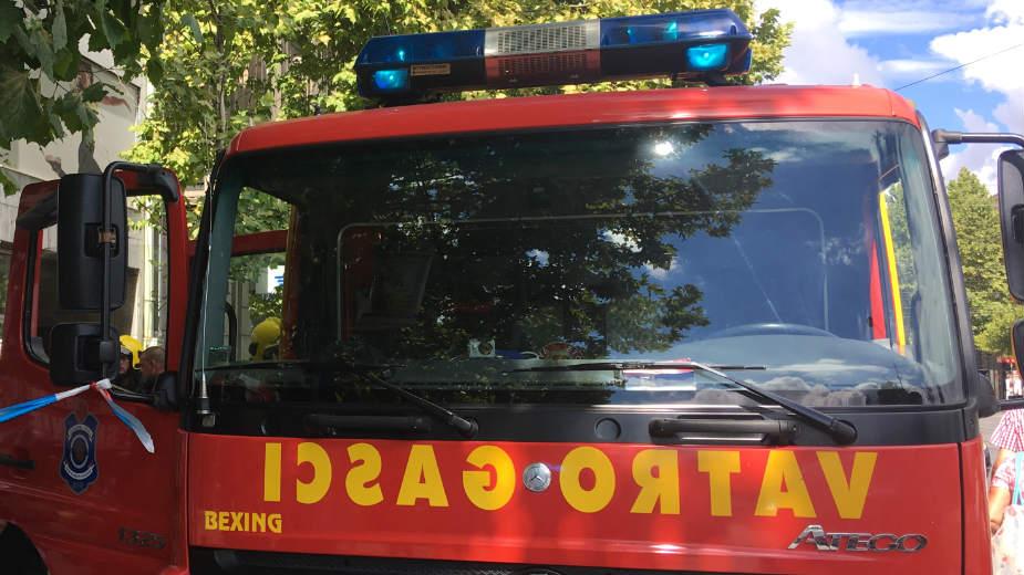 Požar u tržnom centru Promenada u Novom Sadu, nema povređenih 1