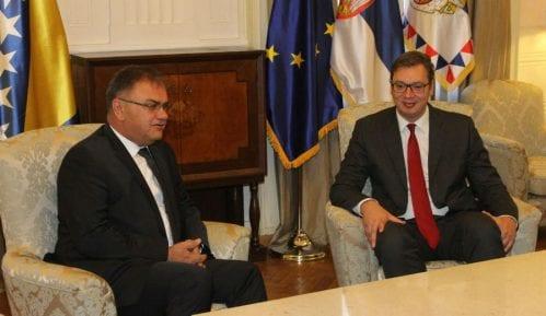 Vučić sa Ivanićem o političkim i ekonomskim odnosima 11