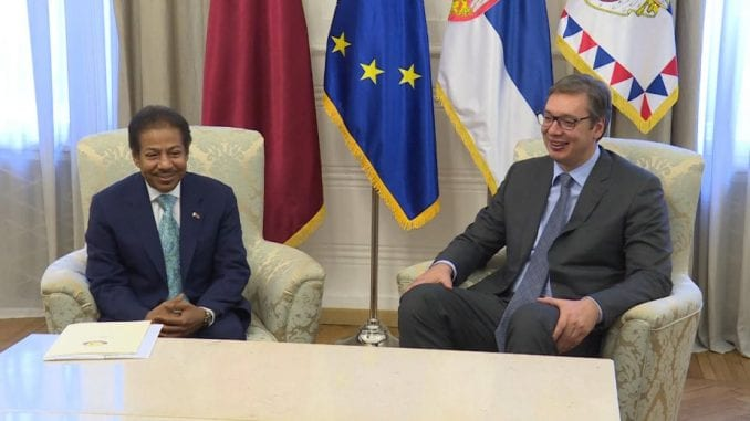Unaprediti ekonomske veze Srbije i Katara 1
