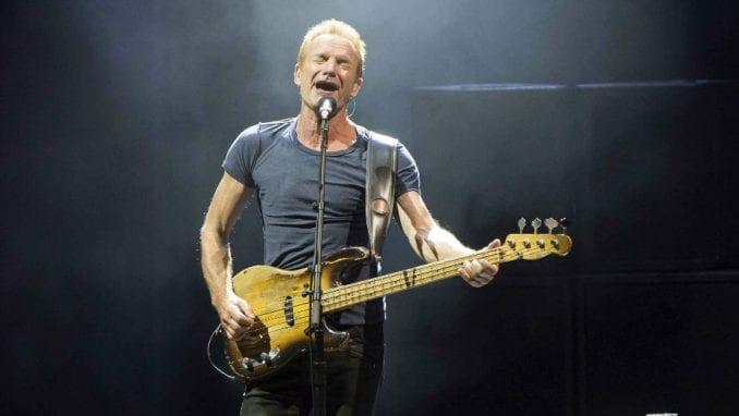 Sting nastupa u nedelju u Areni 2