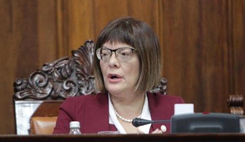 Gojković zakazala vanrednu sednicu za 20. septembar 15