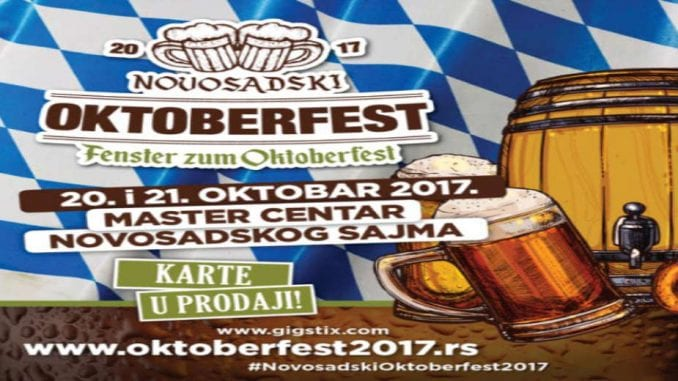 "Novosadski ""Oktoberfest"" od 20. do 21. oktobra 1"
