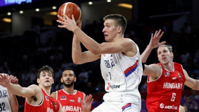 Košarkaši Srbije igraju večeras protiv Italije 1