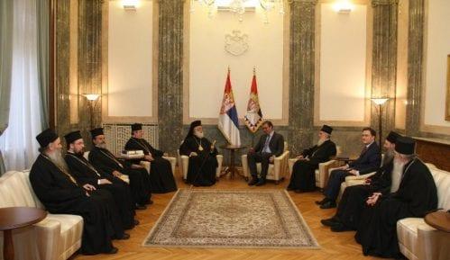Vučić sa patrijarhom aleksandrijskim 6