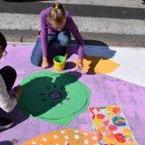 Deca crtala mural za bezbednost u saobraćaju 11