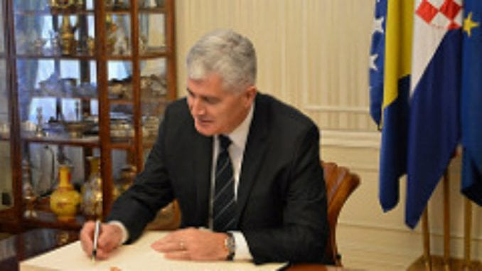 Čović: Ne može biti prelivanja krize s Kosova na BiH 4