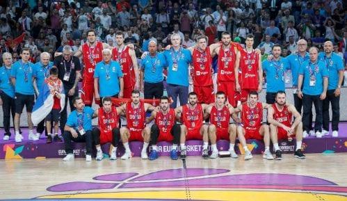 Srbija osvojila srebro na EP u košarci 5