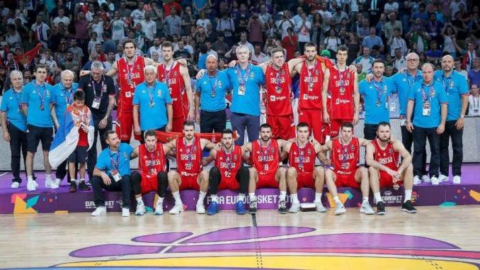 Srbija osvojila srebro na EP u košarci 2