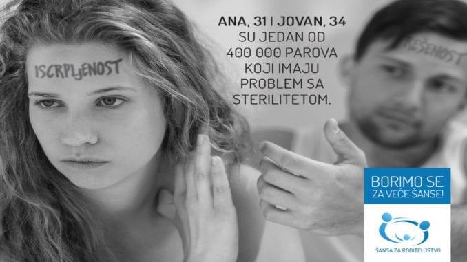 Svaki peti par u Srbiji ima problem sa plodnošću 1