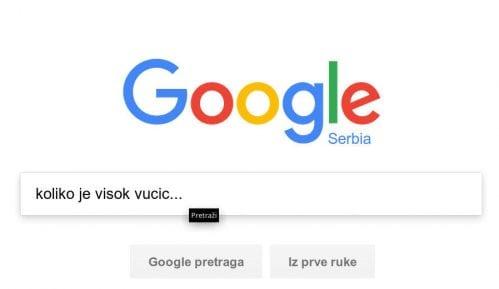"""Šta građani """"guglaju"""" o srpskim političarima? 7"""