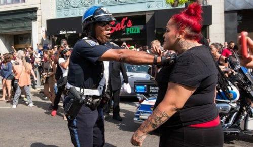 Protesti u Sent Luisu završili nasiljem 2