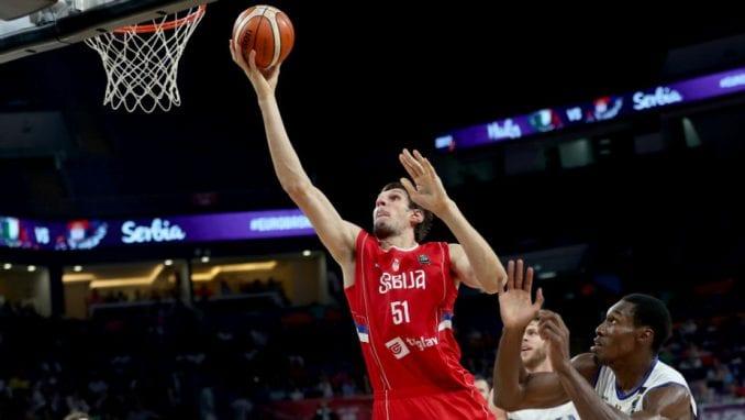Srbija u polufinalu Evropskog prvenstva u košarci 4