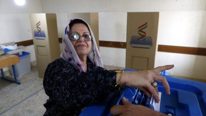 Kurdi u Iraku glasaju na referendumu 4