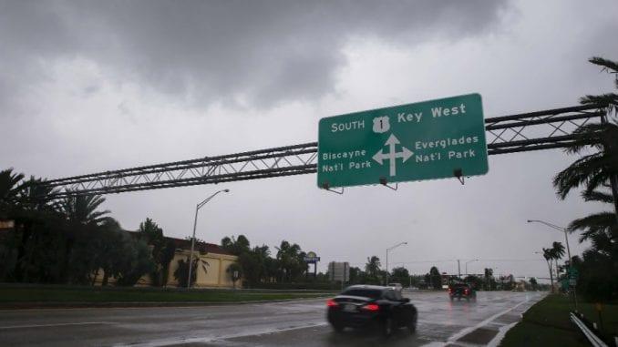 Irma u nedelju ujutro u Majamiju 2